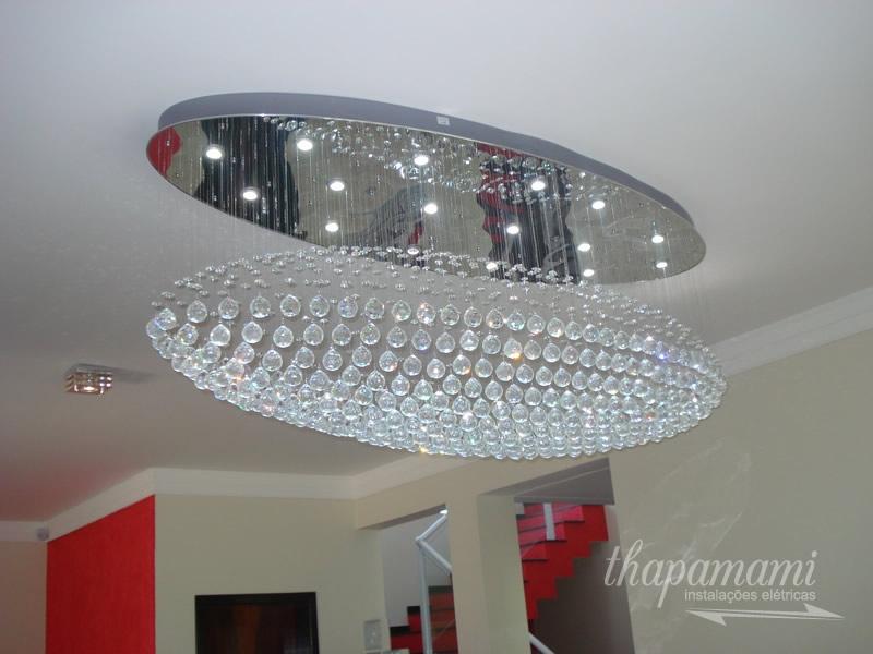 Instalação de Lustre Zeppelin